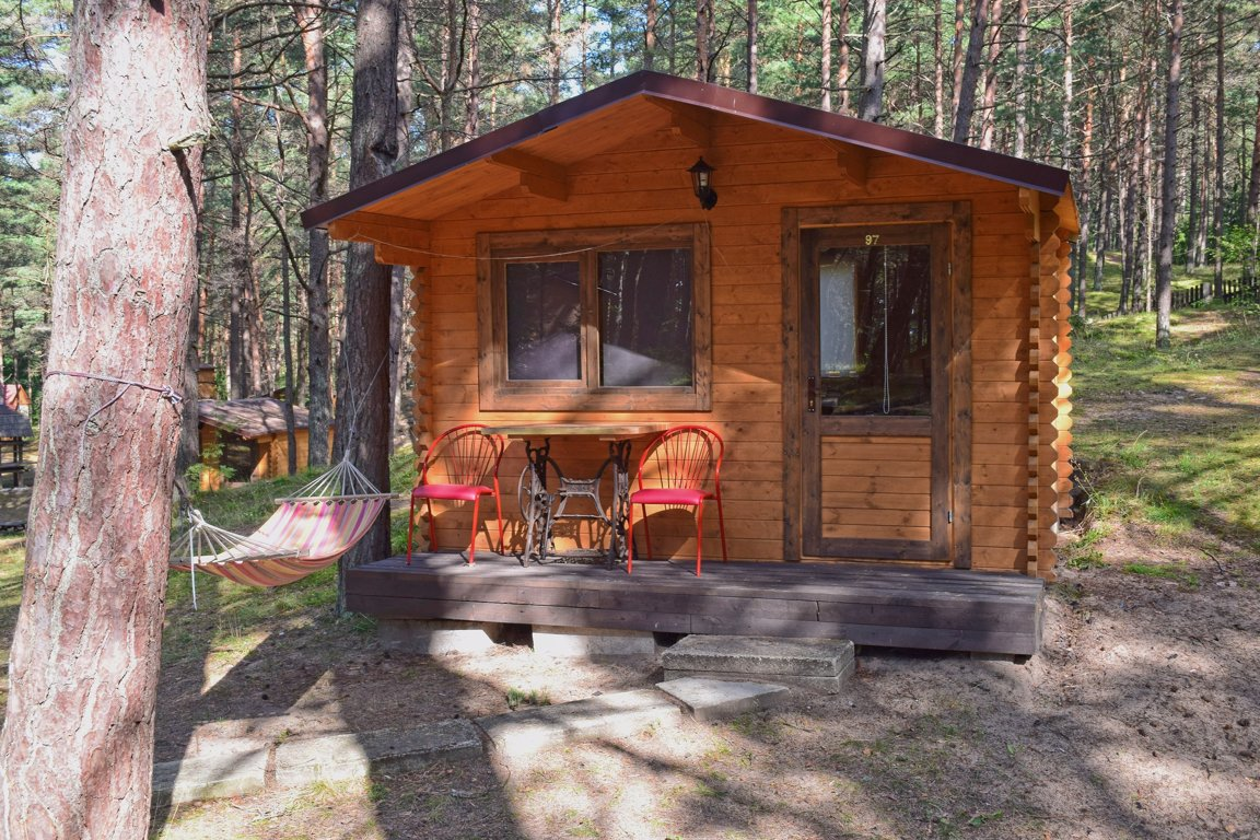 Summer cabin (3 people)